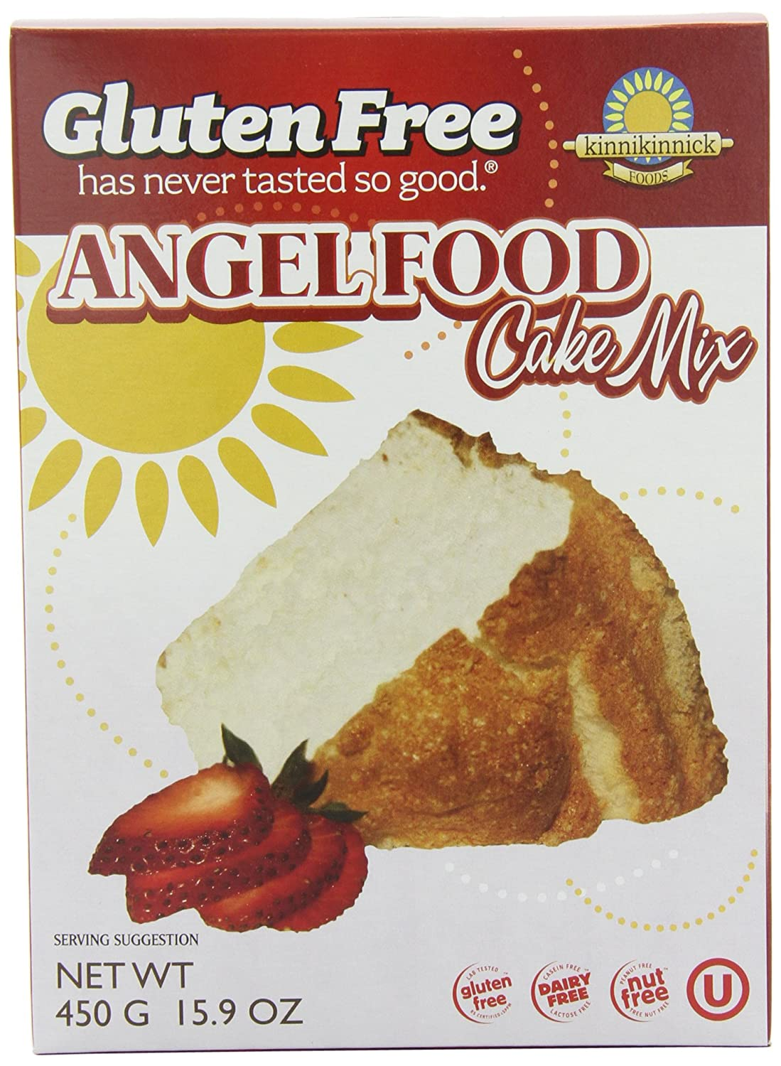 Gluten Free Pantry Angel Food Cake Mix