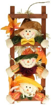 Thanksgiving Hanging Scarecrow Door Decorations ...