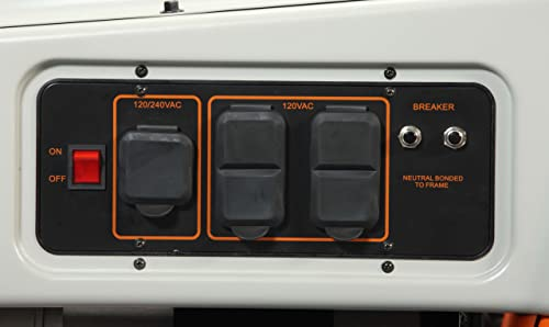 Generac 6000 LP3250 Portable Generator Review - Power Up Generator