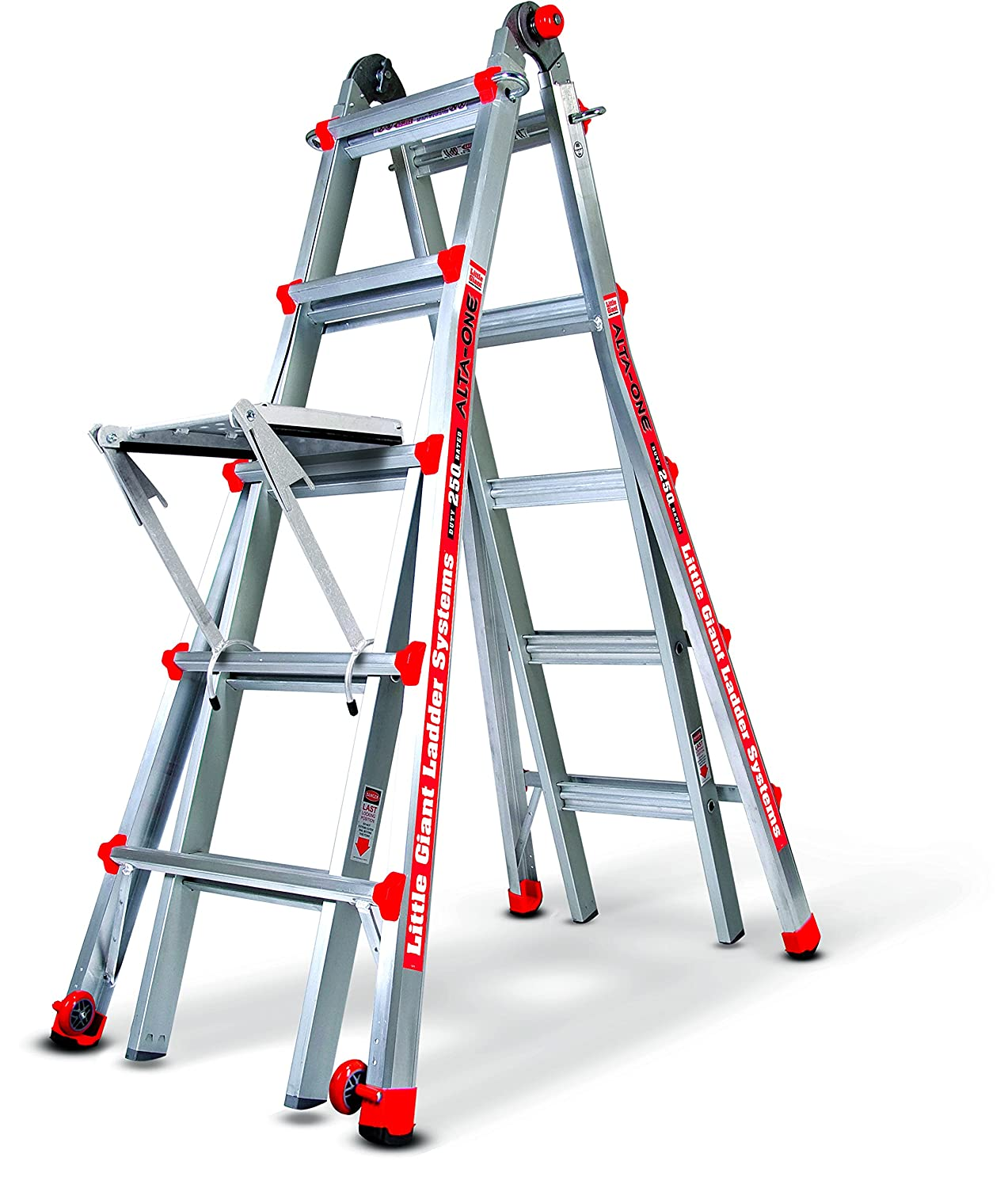 Little Giant 17 Foot Ladder With Work Platform Amazon