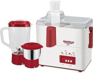 Maharaja Whiteline Gala JX-117 450-Watt Juicer Mixer Grinder with 2 Jars @Rs.1,999