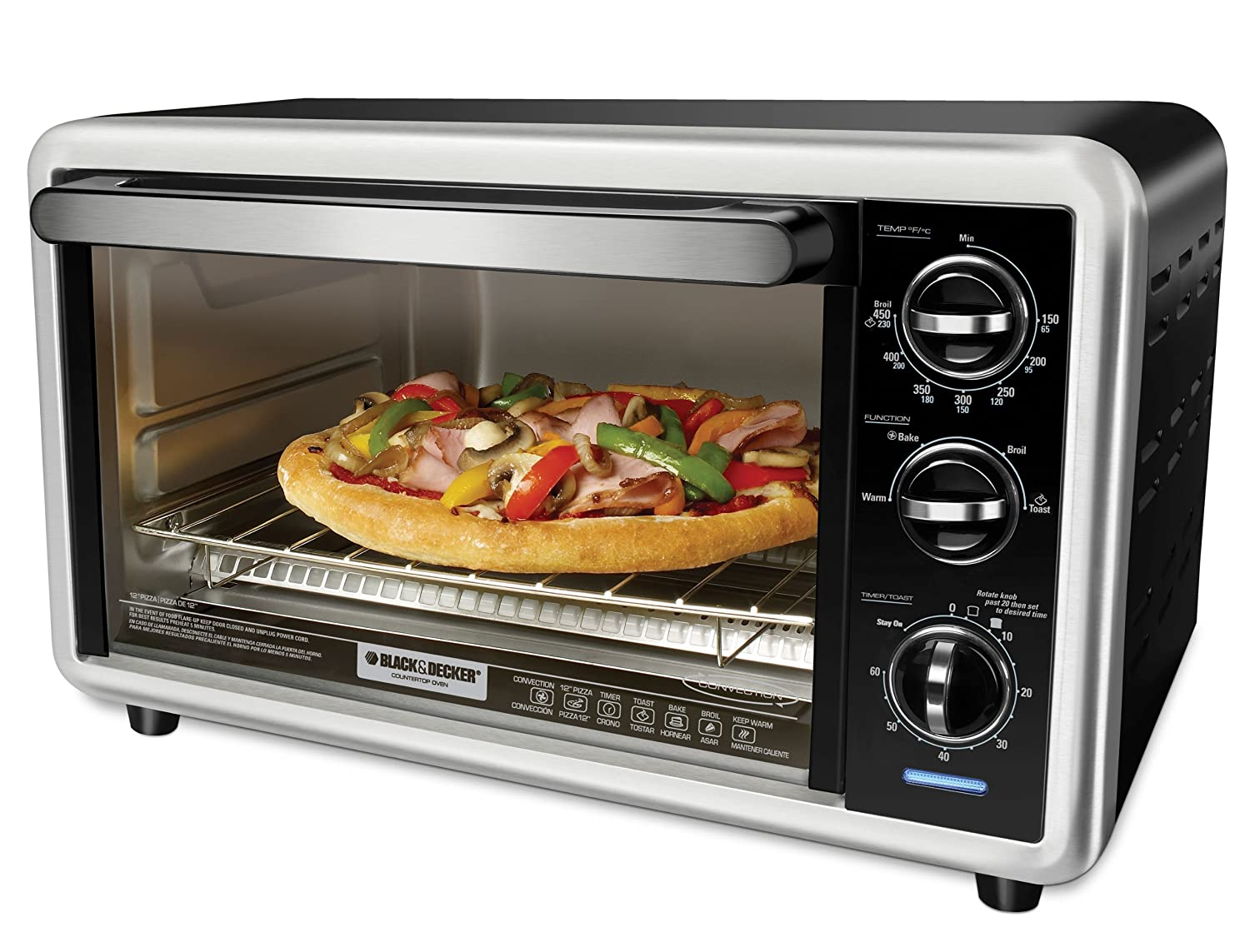 Food Network Countertop Convection Oven With Rotisserie Top 10 Best Pizza Convection Ovens 2016 2017 On Flipboard
