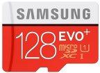 Samsung Speicherkarte MicroSDXC 128GB EVO Plus UHS-I Grade 1 Class 10 für Smartphones und Tablets, mit SD Adapter