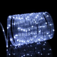Solar Rope Lights Outdoor, Oak Leaf 41ft 100LED LED Rope ...