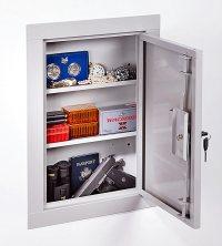 Stack on Hidden in Wall Vault Tactical Gun Storage Cabinet