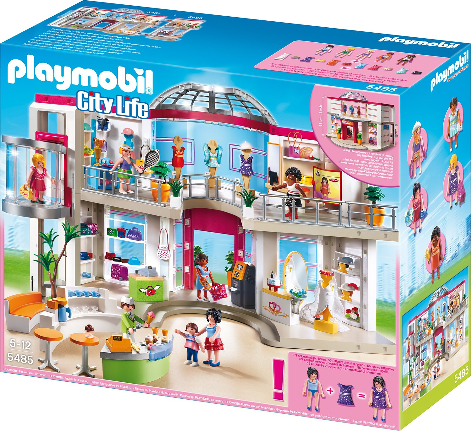 Playmobil City Life Küche Müller Playmobil Shopping Center 5485 Preisvergleich And Test