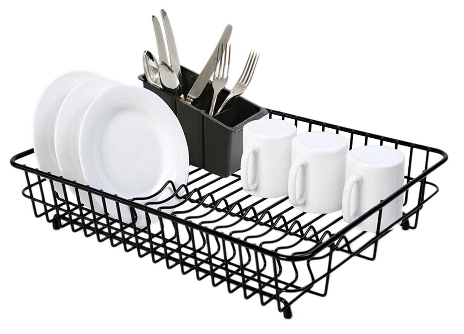 Dish Rack With Drainer Ktaxon Kitchen Dish Cup Drying Rack Holder Sink Drainer Tier Dryer With
