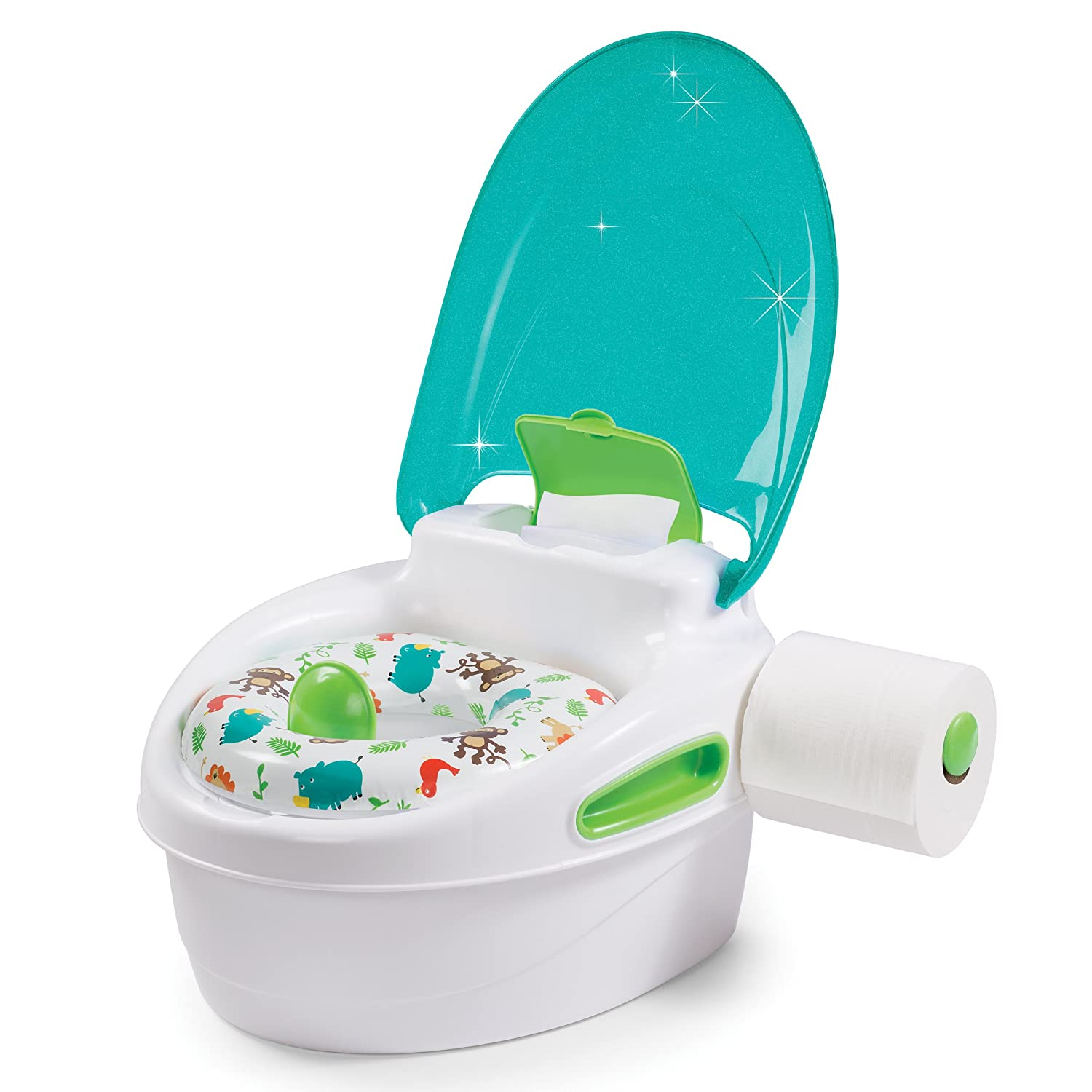 Piscina Plastico Duro Toilet Pee Trainer Chair Training Seat Potty Toddler Baby