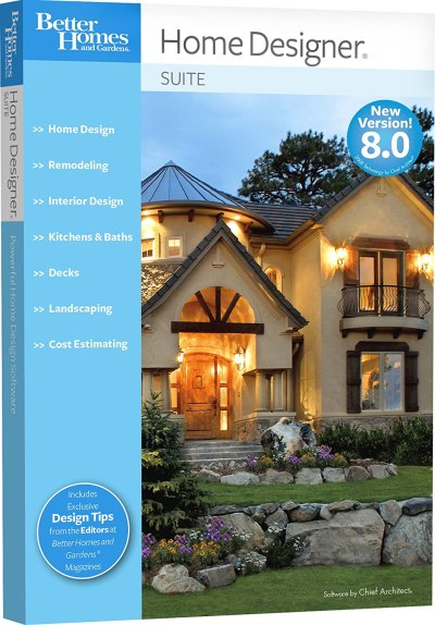 Better Homes and Gardens Home Designer Suite 8.0 [OLD ...