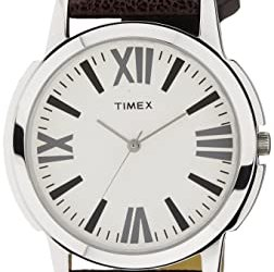 Timex Analog Silver Dial Men's Watch – TW002E101 @Rs. 599