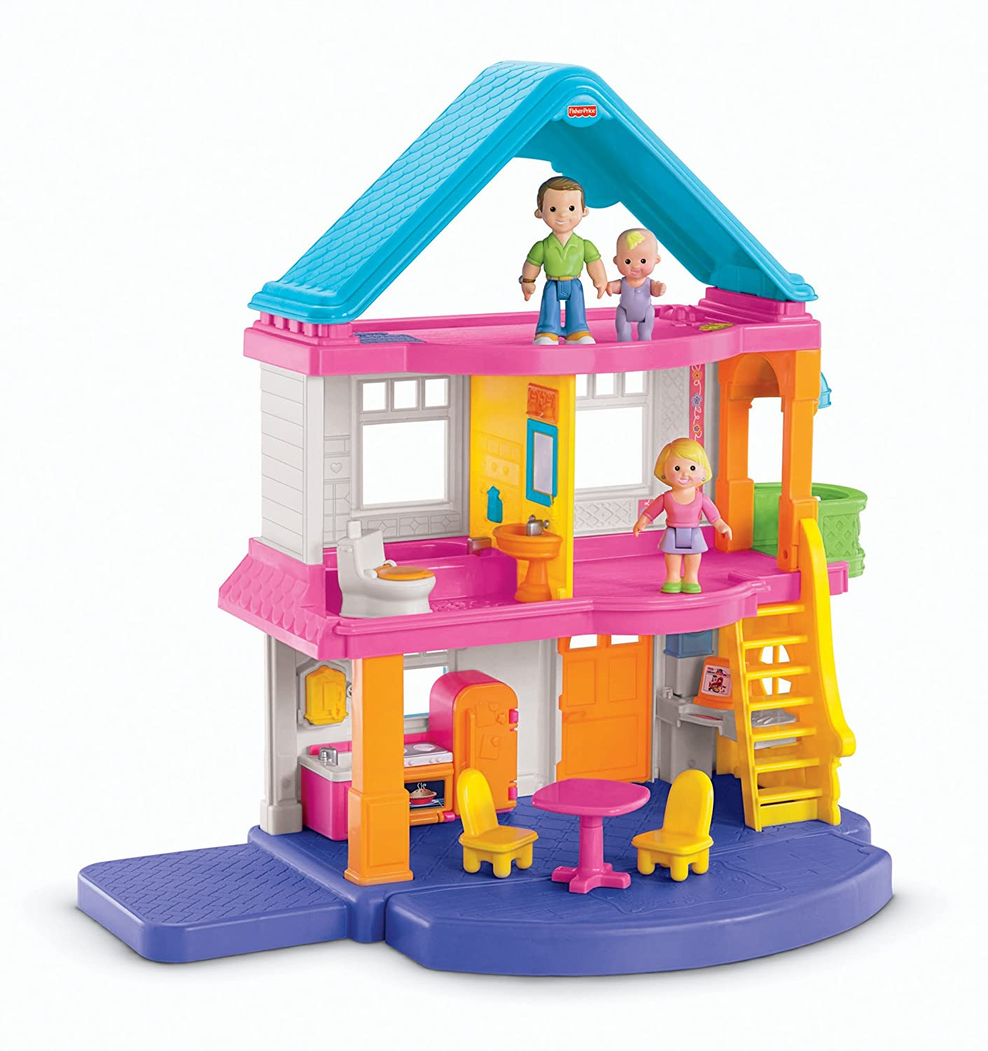 Toddler Dollhouse Fisher Price My First Dollhouse New Free Shipping Ebay