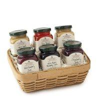 Stonewall Kitchen Jam Sampler Gift Basket | 0711381324035 ...