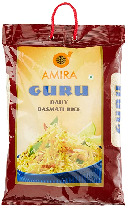 Amira Guru Daily Basmati Rice, 5kg
