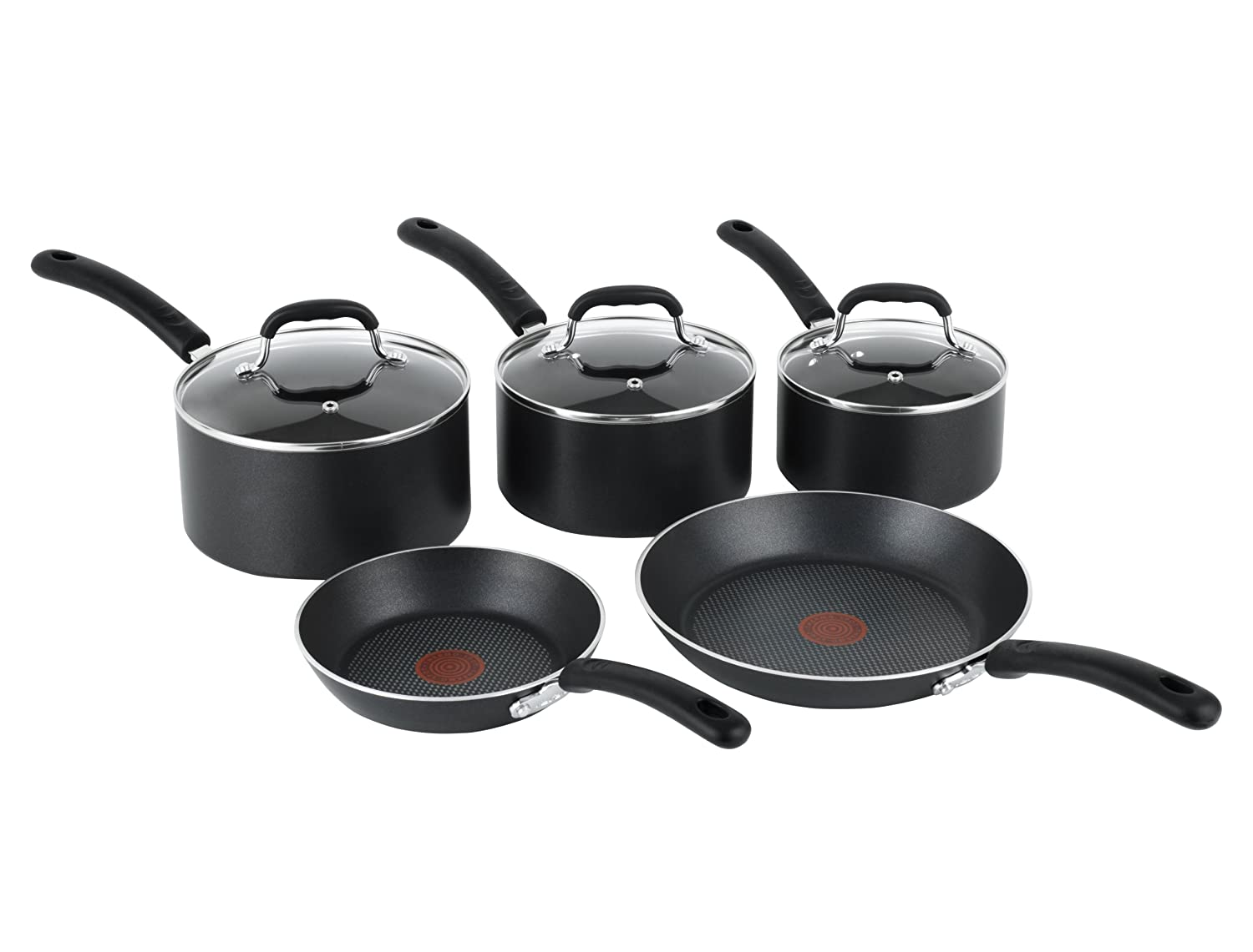 Tefal Pan Set New Tefal Premium Non Stick Cookware Set Induction 5 Pot
