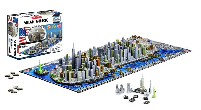 New York 4D puzzle, gift,
