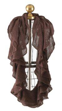 Scarves, Shawls, Wraps: Taleen Ruffle Loop Infinity Scarf ...