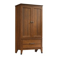 Bedroom Wardrobe Armoire Cabinet Closet Clothes Wood ...