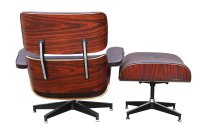 Designer Modern Classic Plywood Lounge Chair & Ottoman ...