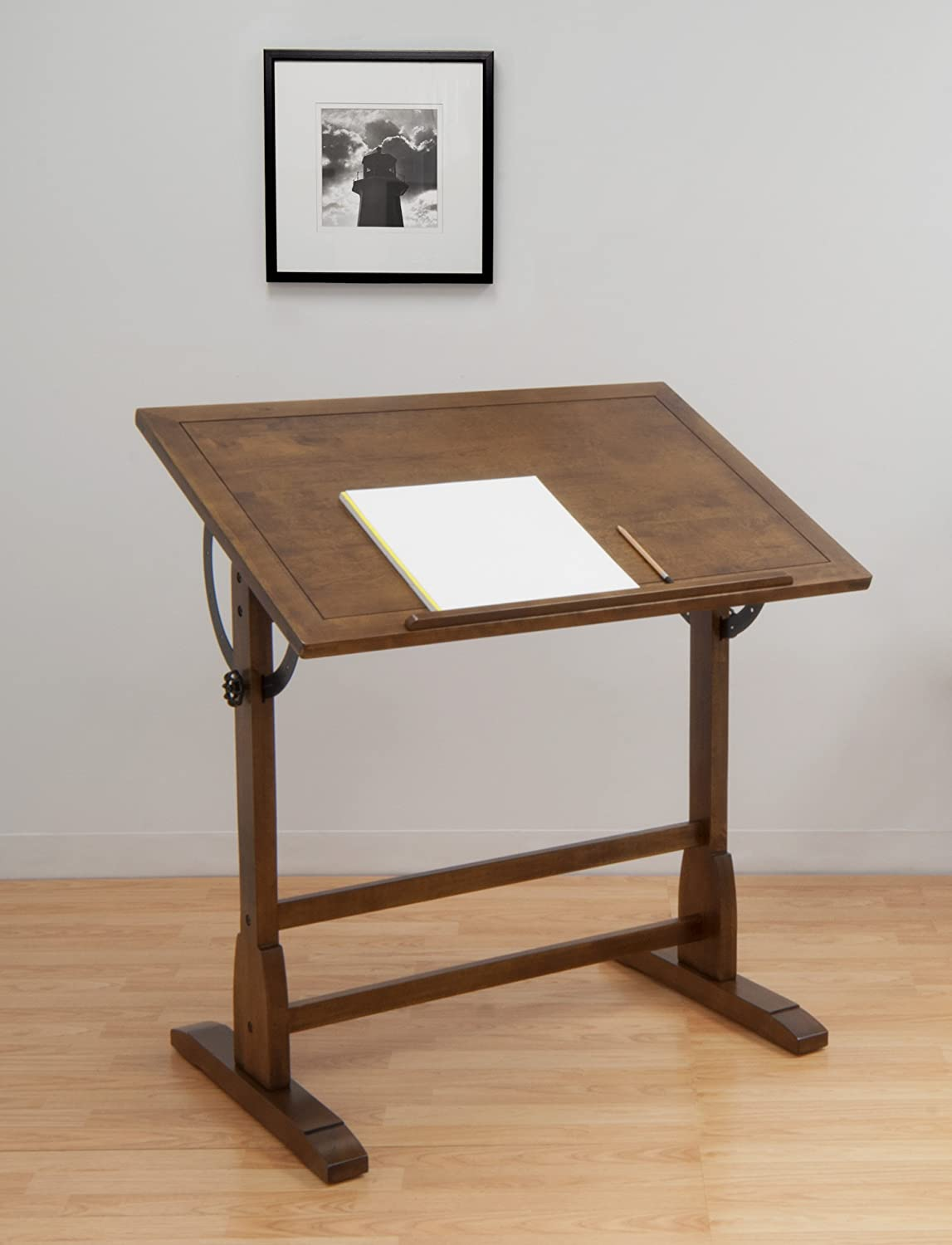 Drafting Table Design Studio Designs 13304 Vintage Drafting Table Rustic Oak