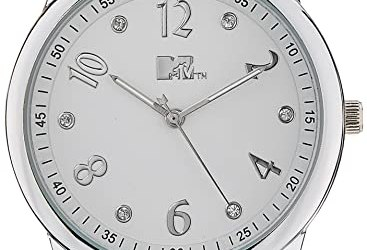 MTV Analog White Dial Women's Watch - G7002WH