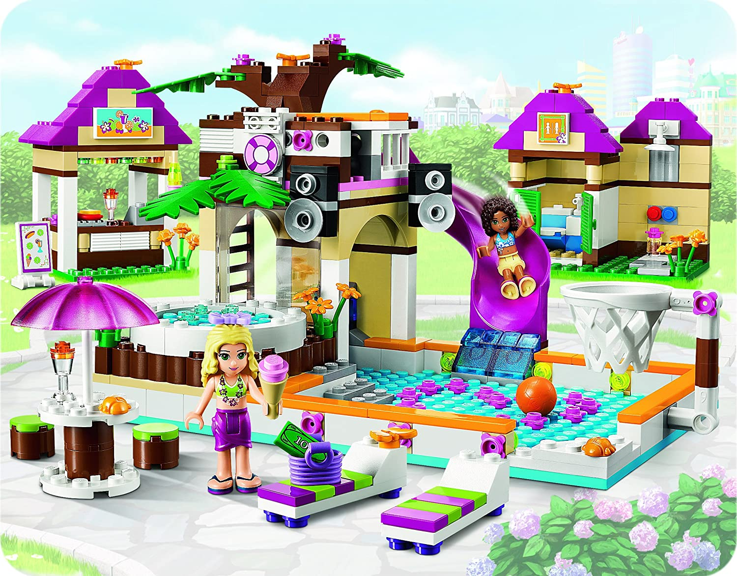 Lego Friends Piscina Comment Construire La Piscine Lego Friends La Réponse