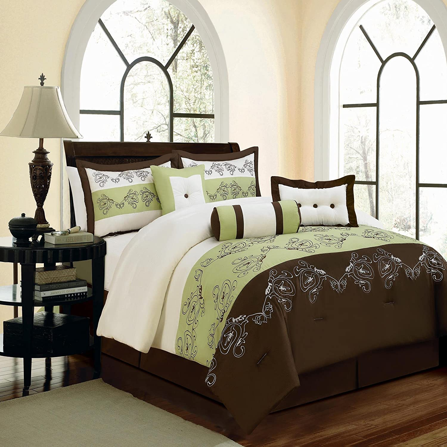 Green And Brown Bedroom Green And Brown Bedding Fel7