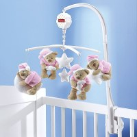 Bebes Mobile  Nattou Mobile musical  Dream Bear  de lit ...