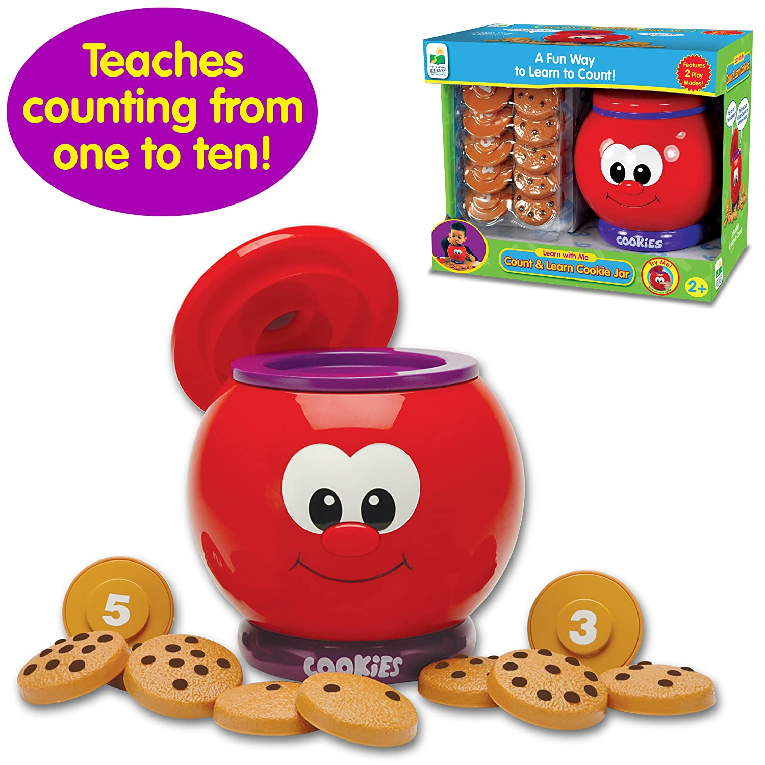 Modern Cookie Jar The Learning Journey Count And Learn Cookie Jar New