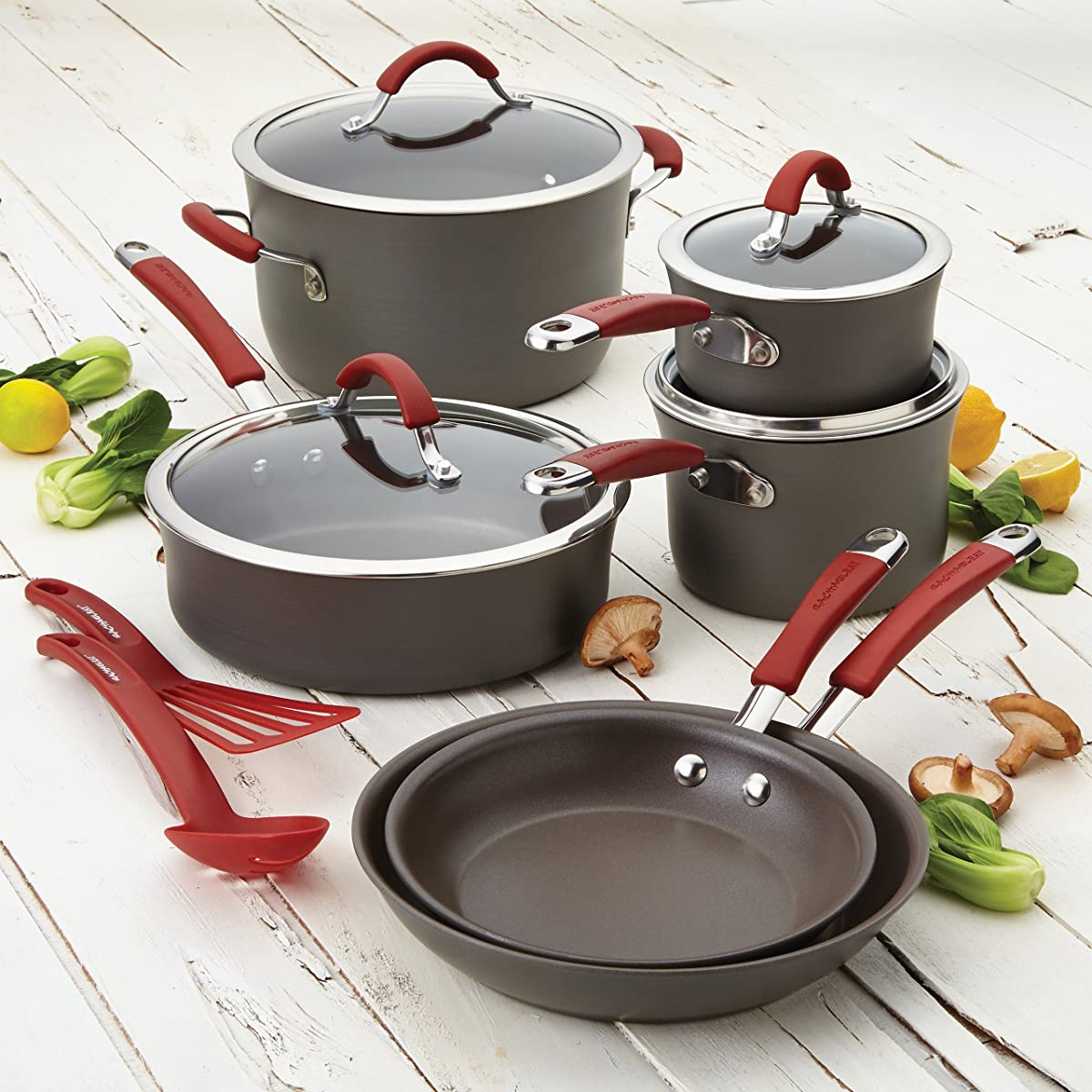 Cucina A Gas Amazon Best Hard Anodized Cookware Set 2019 Top 5 Picks Reviews