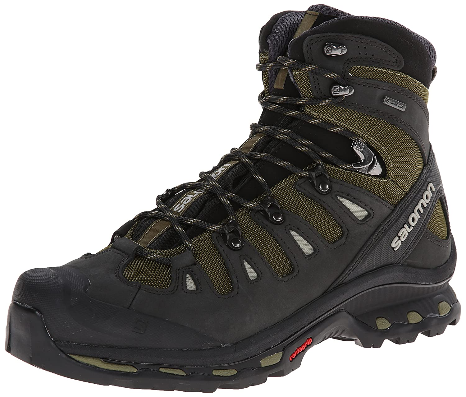 Salomon Men39s Quest 4d 2 Gtx Hiking Boot Iguana Green