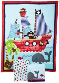 Pirate Baby Bedding Sets