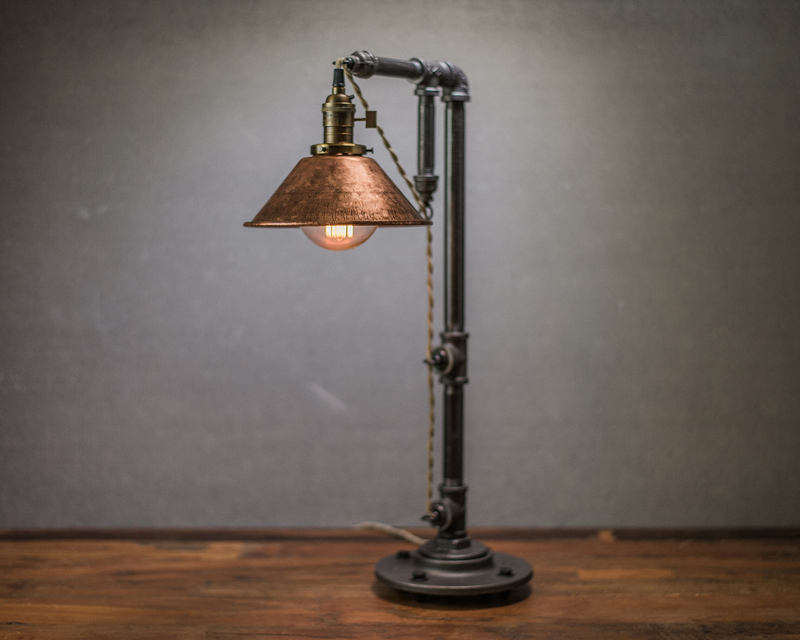 Industrial Looking Light Bulbs Industrial Style Table Lamp Pendant Edison Bulb Copper