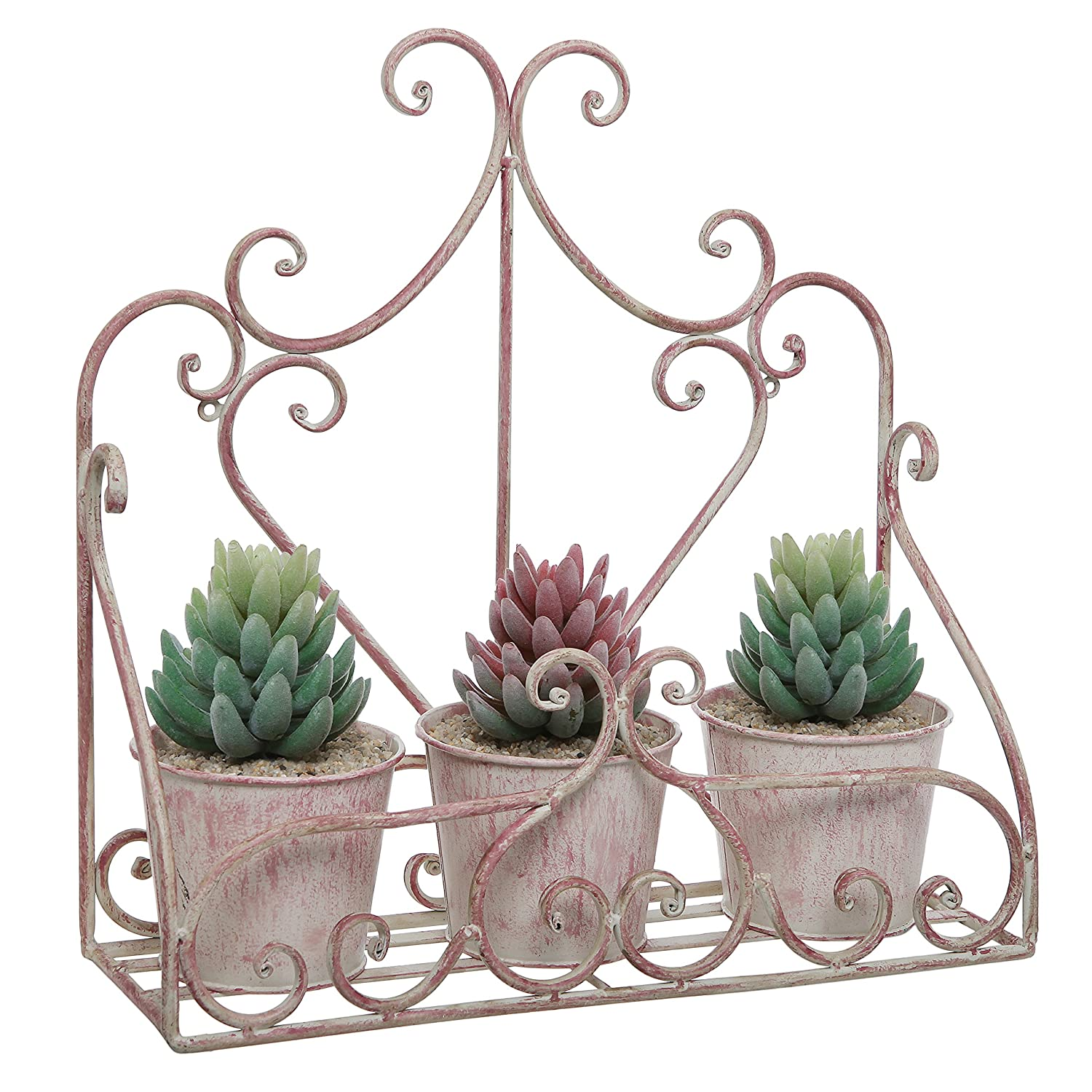 Large Wall Mounted Planters Beautiful Metal Planters For Wall Decoration Strong And