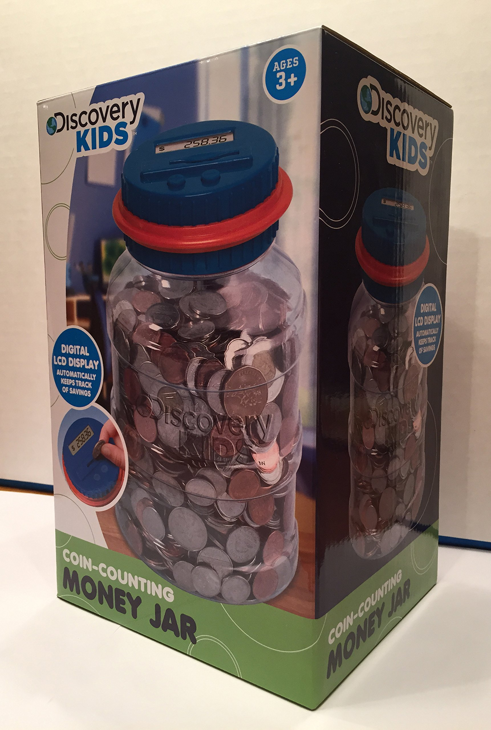 Piggy Bank With Counter Discovery Kids Coin Counting Money Jar Electronic Bank