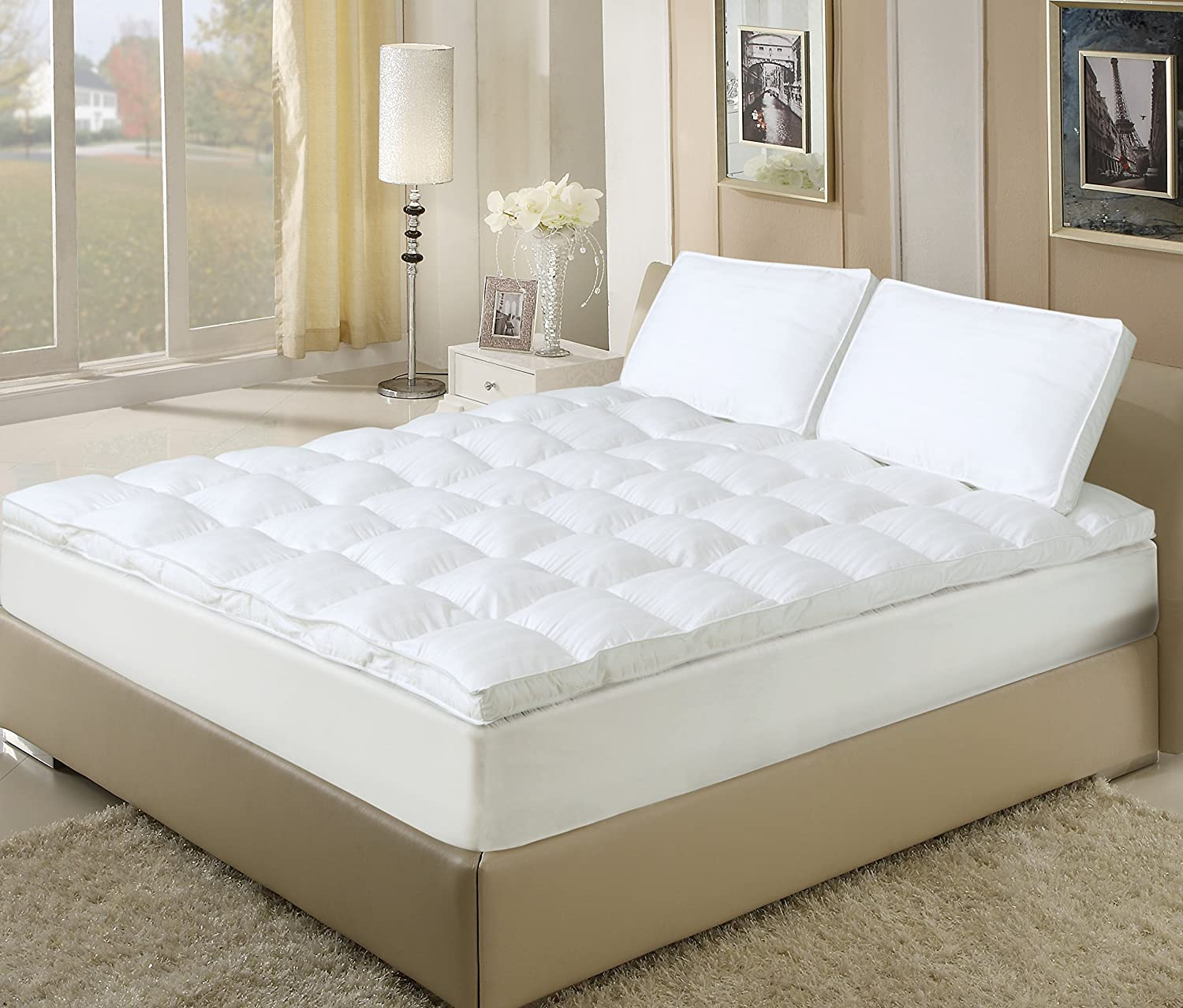 Wool Mattress Pad Reviews 1 Best Fiberbed Down Alternative Mattress Topper Reviews