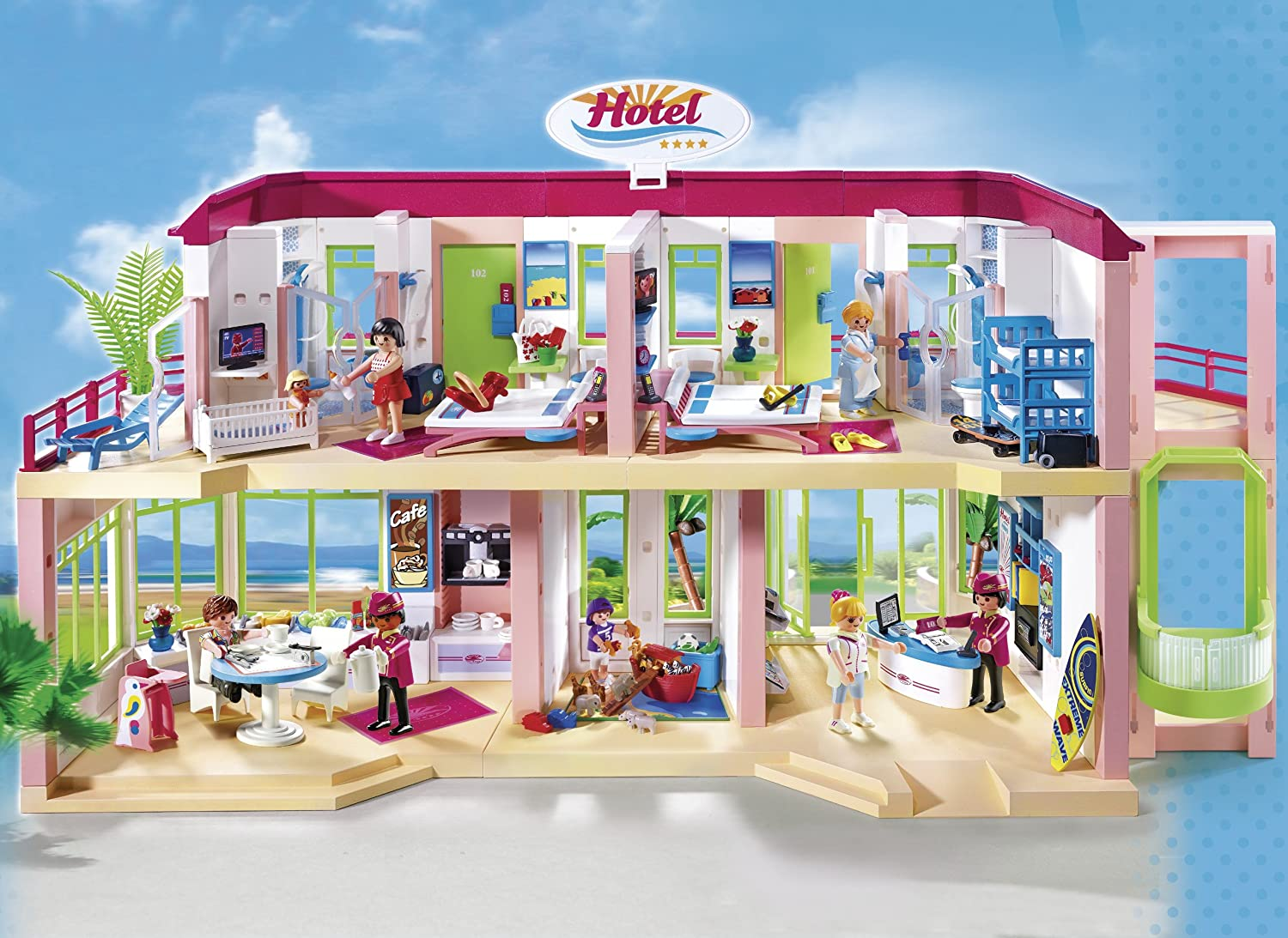 Paravent Youtube Hotel Playmobil