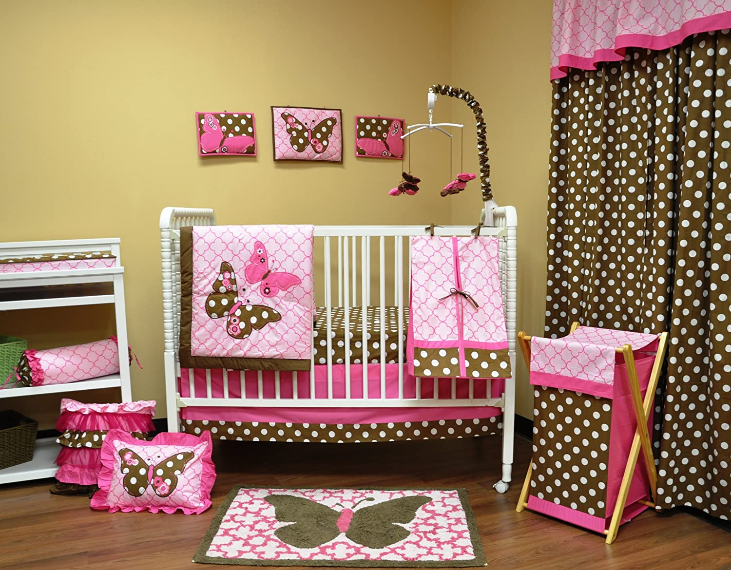 Butterfly Bedroom Themes Butterfly Crib Bedding Totally Kids Totally Bedrooms