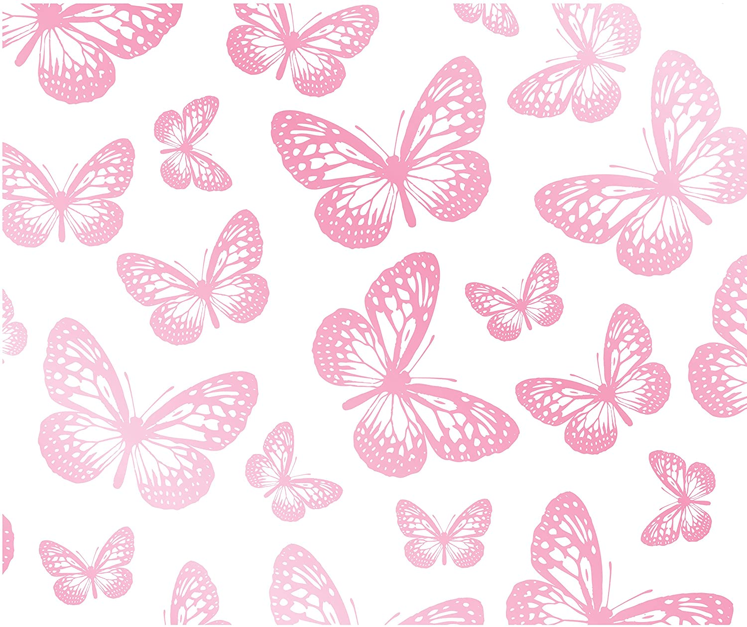 Cute Zig Zag Wallpapers Pink And White Butterfly Background