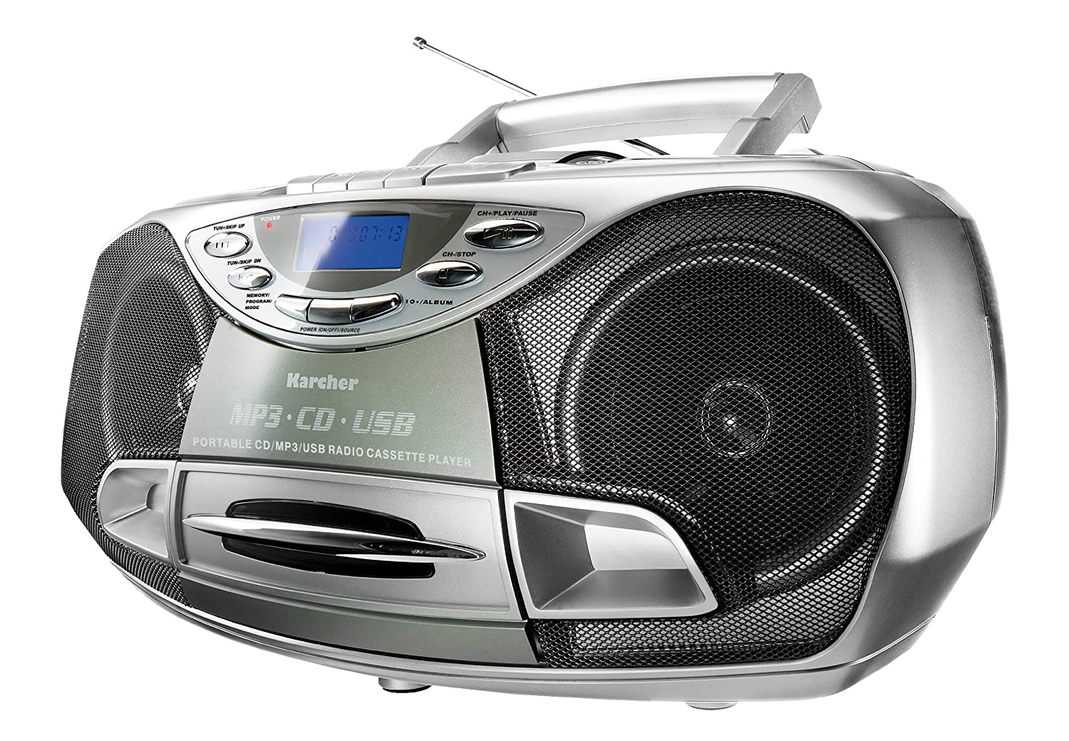 Media Markt Cd Player Tragbar Karcher Rr 510 N Boombox Stereoanlage Cd Mp3 Usb Pll