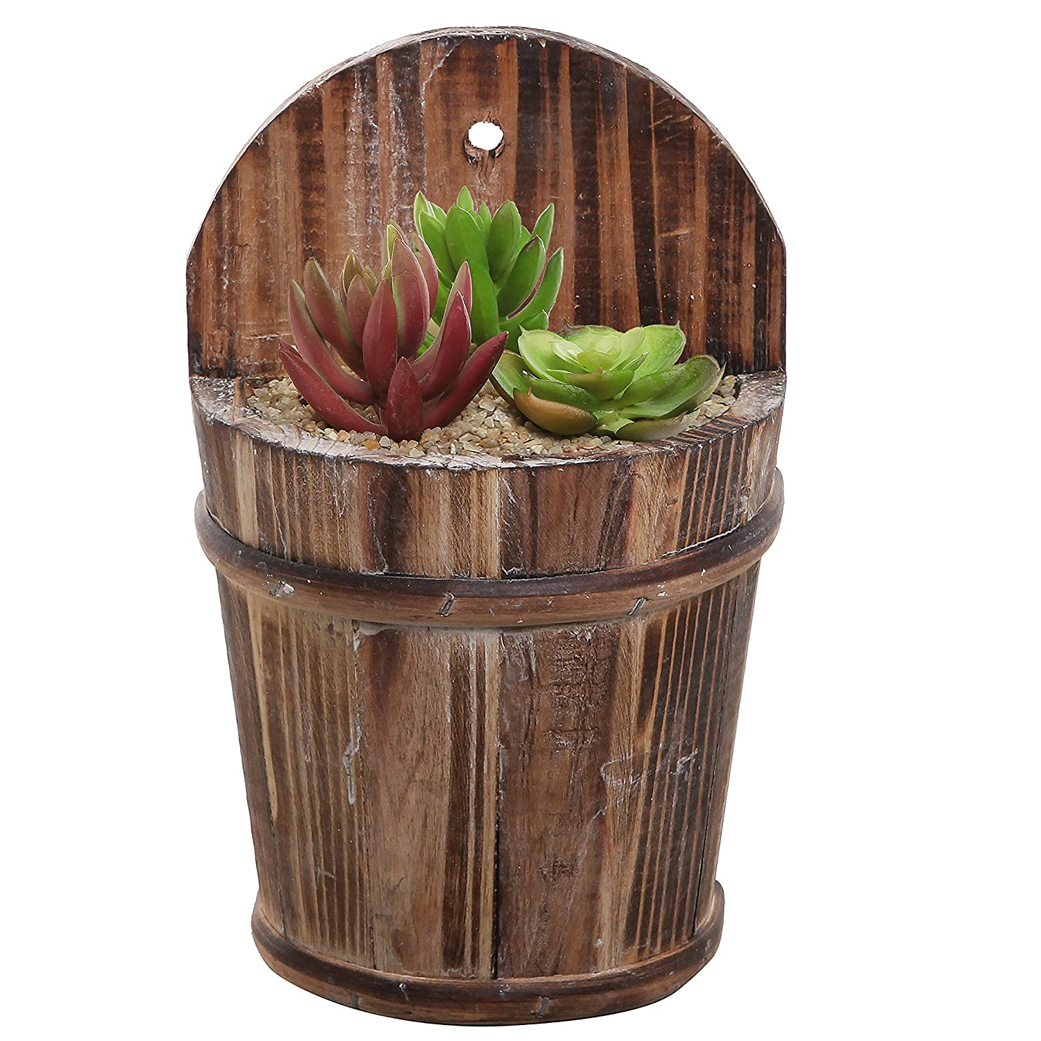 Wall Mounted Pots Beautiful Metal Planters For Wall Decoration Strong And