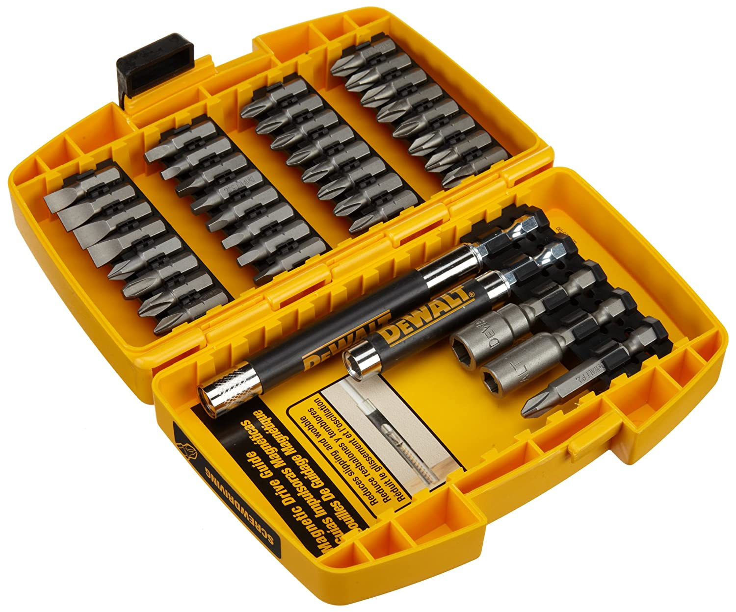 Drill Driver Set Dewalt Dw2176 37 Piece Screwdriving Set Drill Driver Case