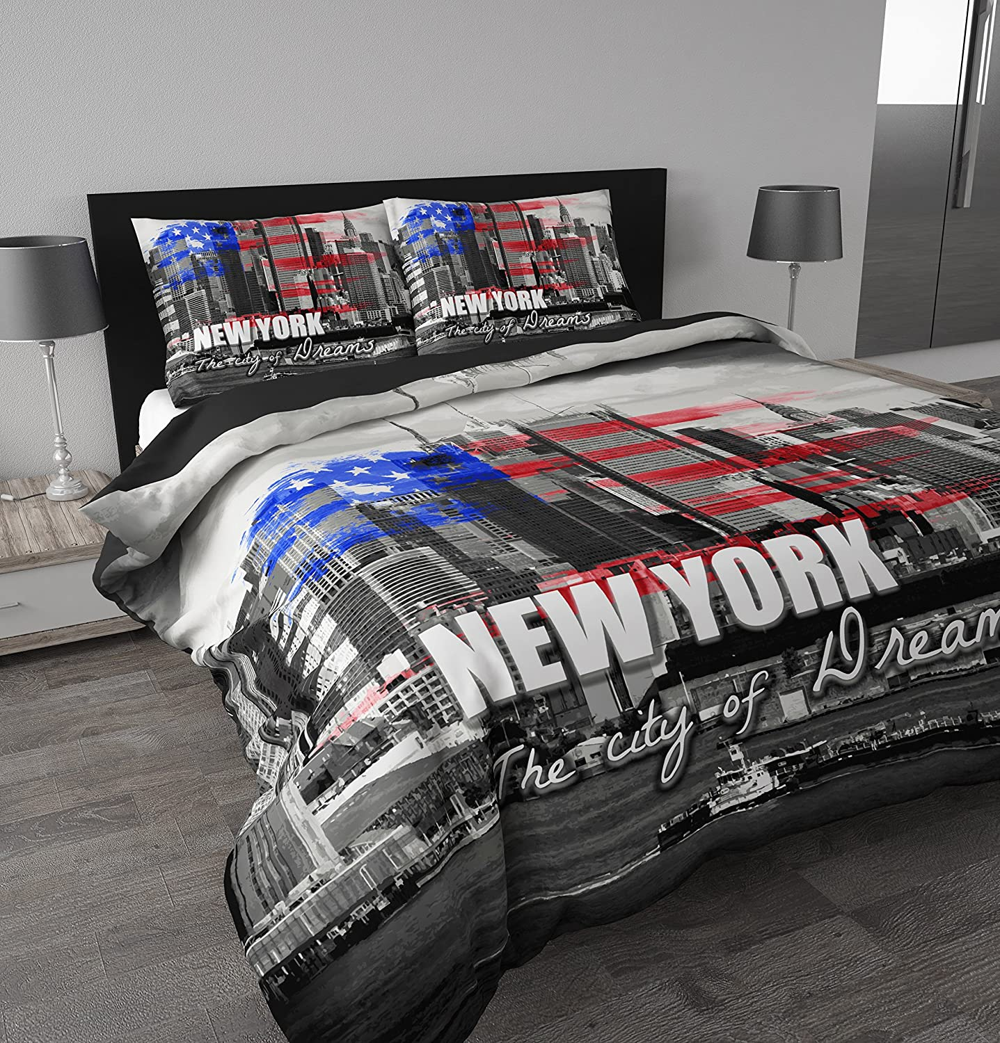 Housse De Couette New York Conforama Housse Couette New York Personne