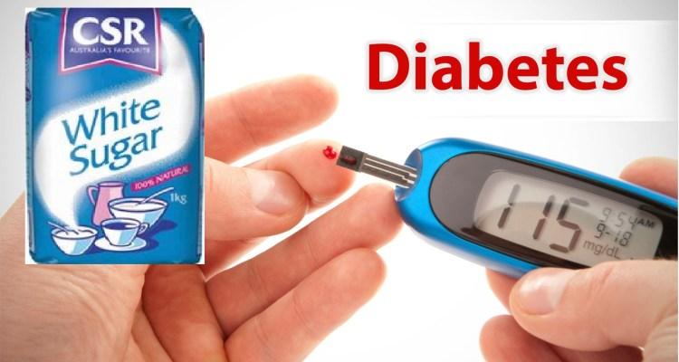 sugar soes not cause diabetes