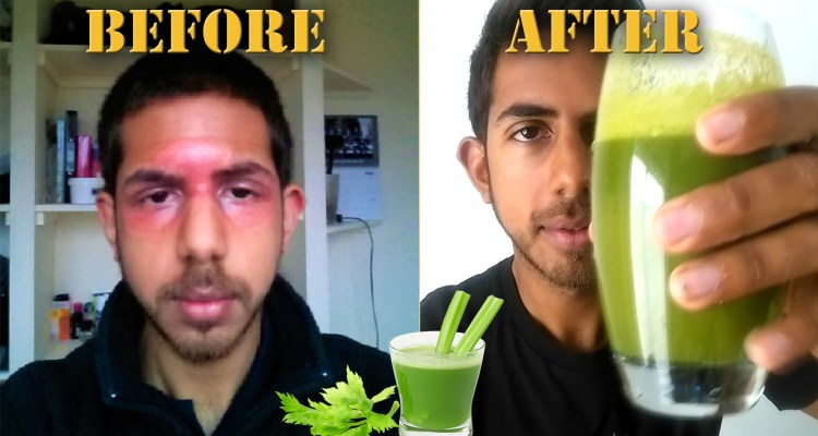 juicing for clear skin