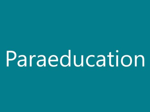 Paraeducation