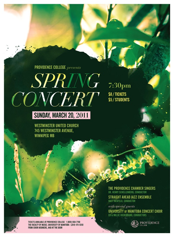 Spring Arts Poster Inspo Music and Theatre design Pinterest - concert flyer