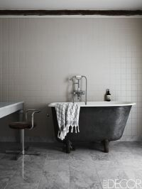 20 Black and White Bathroom Decor & Design Ideas