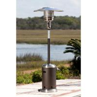 Fire Sense 61185 Commercial Patio Heater - Mocha/Stainless ...
