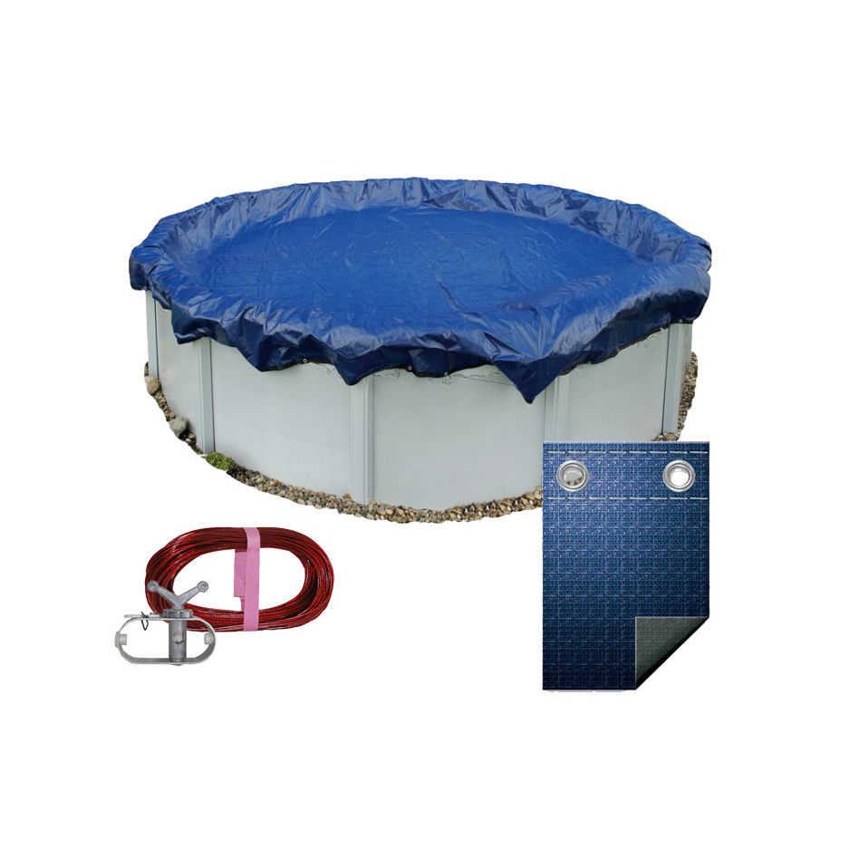 Above Ground Pool Winter Cover Details About 28 Ft Round Above Ground Swimming Pool Winter Cover 10 Year Warranty