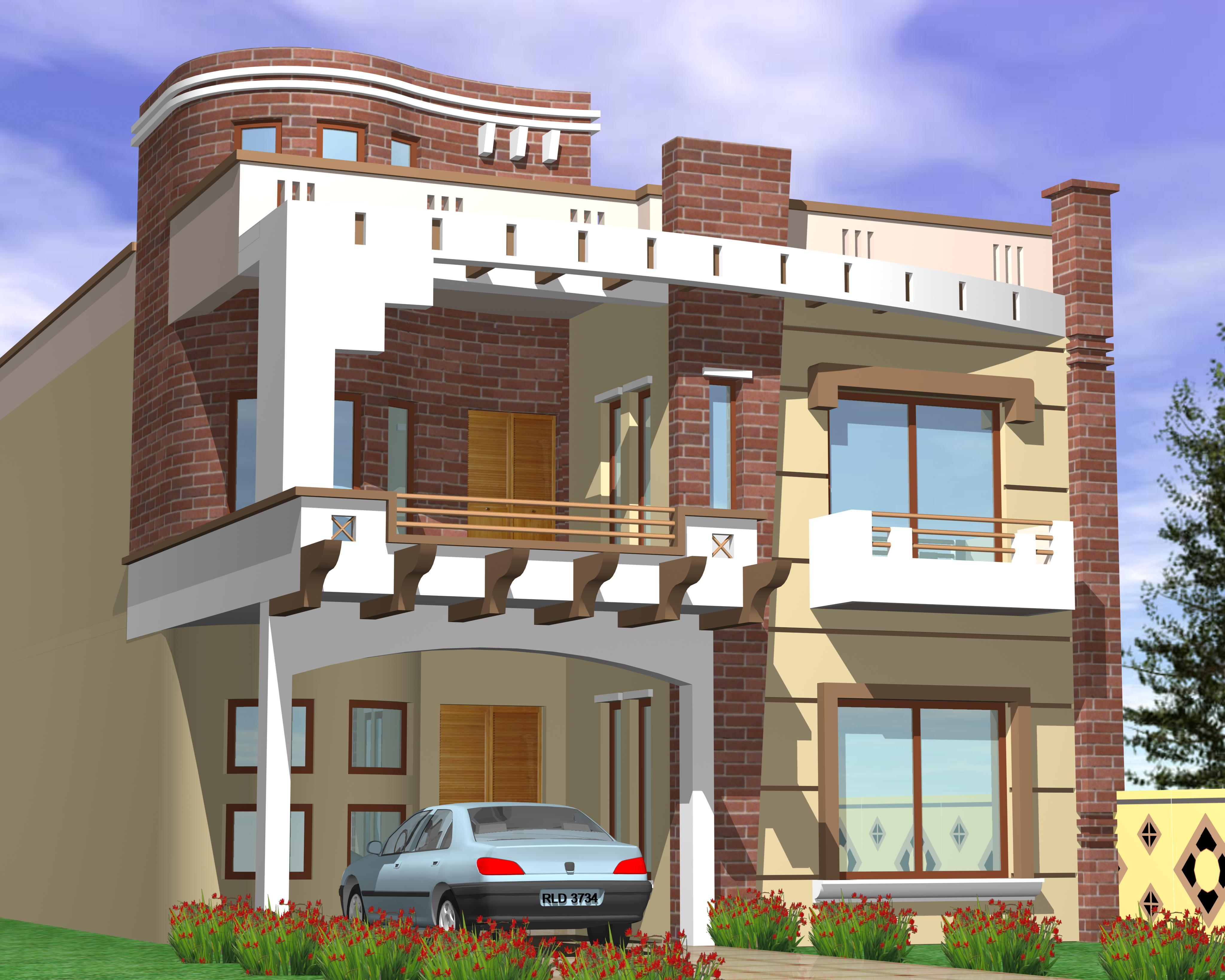 Marla Very Modern House Plans Besides   Marla House Floor Plans - 5 marla house design exterior